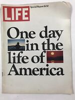 Vintage Life Magazine March 1974 Special Report One Day In The Life Of America