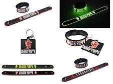 SKINNY PUPPY Bracelets Wristband Keychain Premium Rubber Glow In the Dark pr264