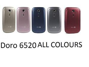 Doro PhoneEasy 6520 Flip Fold 3G Unlocked SOS HAC Mobile Phone UNLOCKED GRADE A