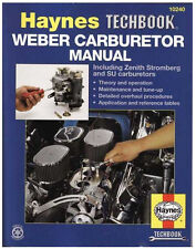 HAYNES WEBER CARBURETOR MANUAL / BOOK DCOE SU TRIPLE SIDEDRAFT DCOE  #10240