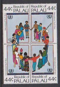 Palau - 1985, International Youth Year Set - MNH - Sg 77/80