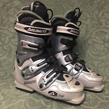 Dolomite DC 70 Men's Downhill Ski Boots Silver and Black 300 mm