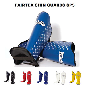 Fairtex SP5  Shin Guards Muay Thai Kick Boxing Competition Shin Pads Protection