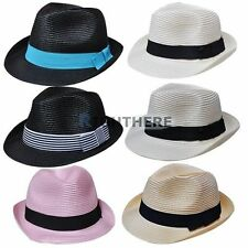 Unbranded Straw Fedora/Trilby Hats for Women