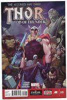 Thor God of Thunder #15 NM Marvel Comics 2014 Jason Aaron Story & Ron Garney Art