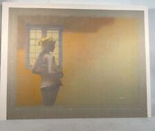 "Artwork Original drawing graphite pencil female figure ""By The Window"""