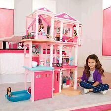 Barbie Villa de 7 chambres Dreamhouse maison de rêve maison de poupée ffy84 NEUF