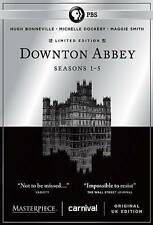 Masterpiece: Downton Abbey: Seasons 1-5 (DVD, 2015, Limited Edition)
