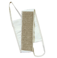 XL 27 inch Natural Nettle Bath Back Scrubber with Handles, Made in Russia