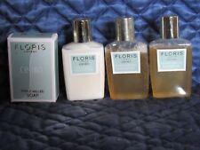 Vintage Floris London  Set of 4 -Cefiro  2 Bath - 1 Body - 1 Soap - NIB