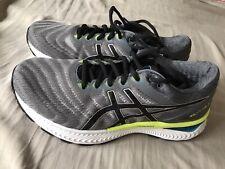 Etiquetas Nuevas Asics Para Hombre Gel-Nimbus 22 Calzado para Correr Zapatillas Sneakers-Gris-UK 7