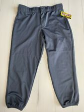 Intensity Women's Athletic Fit Low-Rise Double Knit Softball Pant N5300 Gunmetal