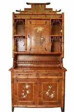 Perret & Vibert French Bamboo Cabinet