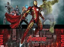 TOVAGLIA PVC AVENGERS 2 Party Compleanno Marvel Iron Man Capitan America 85398