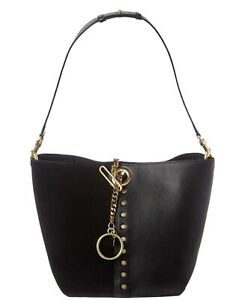 See By Chloe Gaia Leather & Suede Tote Women's Black