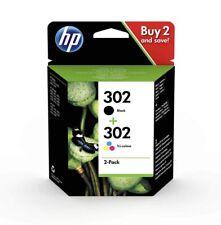 HP 302 Multipack Original Druckerpatronen,2-Pack Schwarz+Tricolor , OvP Neu