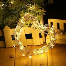 5M USB Copper Wire LED String Fairy Light Waterproof Xmas Party Lamp warm white