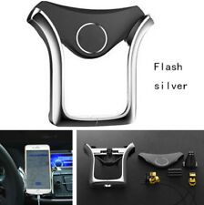 1X In Car Phone GPS Holder Air Vent Clip Cradle Telephone Mount Universal Silver