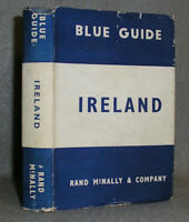 Antique Ireland Travel Book Blue Guide by Muirhead Maps Plans 1949 2nd Ed w/DJ