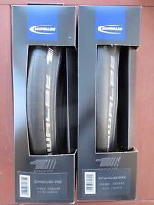 SCHWALBE ONE ROAD BIKE TYRES PAIR 700C 23MM ULTREMO ZX REPLACEMENT