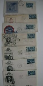 US Presidential Stamp Shows Multiple Covers Philatelic Expo Covers Set 25