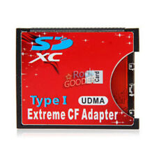 Hot Selling SDXC SDHC WIFI SD to Type I Compact Flash Card Adapter CF ADAPTER