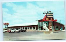 *1950s Castle Courts Restaurant Niagara Falls NY New York Vintage Postcard C55