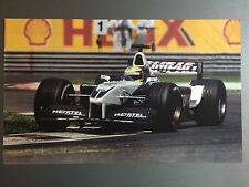 2002 Ralf Schumacher's BMW Formula 1 Print, Picture, Poster RARE!! Awesome L@@K