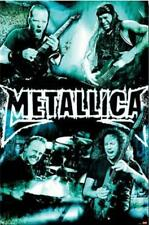 Metallica Live Montage Band Poster 24 x 36