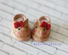 Brown Kitty Shoes for Lati Yellow. (shoes for dolls)