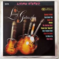 LIVING GUITARS PLAY LP RCA LIVING STEREO