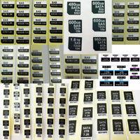 1PCS Dell 2.5 3.5 Tray Caddy Hard Disk HDD SAS SATA SSD Adhesive Stickers Labels