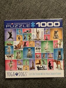 Eurographics Yoga Dog Jigsaw Puzzle 1000 pieces