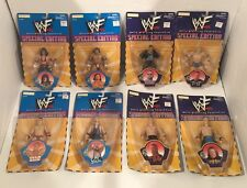LOT OF 8  WWF SPECIAL EDITION SERIES 5 AND 6 ACTION FIGURES JAKKS PACIFIC 1999 W