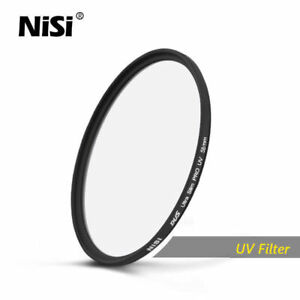 Nisi 30-85mm UV DUS Ultra Slim Professional UV Filter Ultra Thin Protective