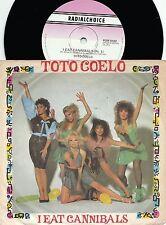 Toto Coelo ORIG OZ PS 45 I eat cannibals NM '82 New wave Pop