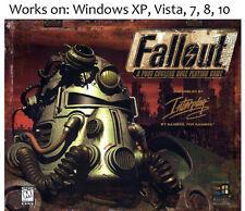 Fallout + Elder Scrolls Arena + Daggerfall PC Game 1997 Windows XP Vista 7 8 10