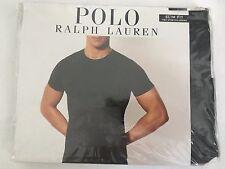 Polo Ralph Lauren 2-Pk Stretch Slim Fit Crew Neck Tees~White~SS~Cotton~Sz M~NWT