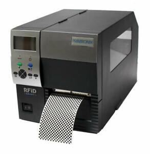 Printronix SL/T4M 252205-001 RFID Thermal Barcode Printer USB Network 203DPI