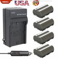 2200mAh BP-511 Battery or Charger for Canon EOS 20D 30D 300D 40D 50D 5D BP-511 M