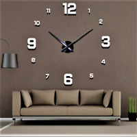 2021 New Wall Clock Modern Design Home Decoration Clock Large Size 3D Room Wall!