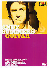 Learn ANDY SUMMERS Police Guitar HOT LICKS Tutor DVD