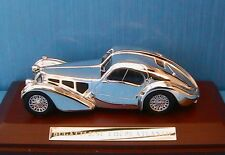 BUGATTI 57SC COUPE ATLANTIC 1938 CHROM 1/43 WOODEN BASE