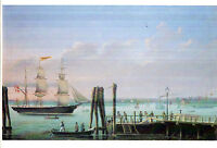 SCHOONER CANDACE BY PETER CHRISTIAN HOLM ON GERMAN UNUSED COLOUR POSTCARD