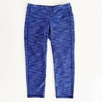 ATHLETA Women's Pants Size XS Chaturanga Energy Capri Legging Space Dye Purple