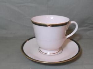 Royal Worcester Carina (Green) Tea Cup & Saucer