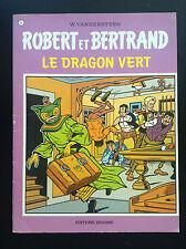 Robert et Bertrand Vandersteen le dragon vert  N° 3 TBE