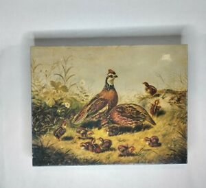 Springbok 500 Piece Puzzle Quail And Young By Arthur F. Tait