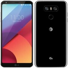 LG G6 H871 AT&T +GSM UNLOCKED ASTRO BLACK 4G LTE 32GB 13MP SMARTPHONE USED