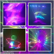 1500mW 3D RGB Full Color Stage Laser Light W/ILDA SD Card Disco DJ Laser Show